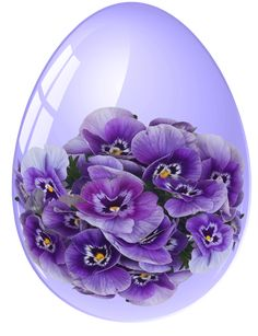 For The Love of Pansies! Purple Love, All Things Purple, Shades Of Purple, Purple Flowers, Purple Stuff, Purple Glass, Easter Art, Easter Eggs, Easter Images Clip Art