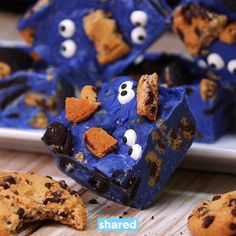 Cookie Monster Fudge is such a fun recipe to make with your kids. It combines three dessert favorites (chocolate chip cookies, fudge and candy), and looks su...