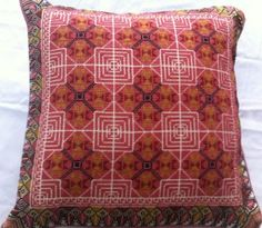 handmade Palestinian embroidery cross stitch pillow. Size: approx 43*43cm - Price: $95each