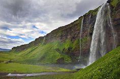 Seljandasfoss waterfalls. Iceland