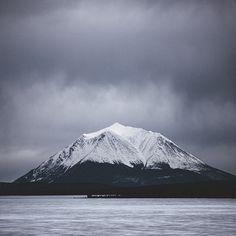 Mt. Minto near Atlin, BC.   (Photo: @andrewstrain via Instagram) #exploreBC #explorecanada