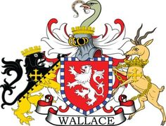 Wallace Family Crest and Coat of Arms
