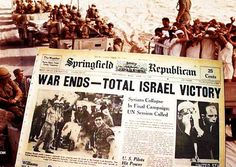50 Years Ago Today, The God Of Abraham Provided Israel With The Miracle Of The 6 Day War Victory