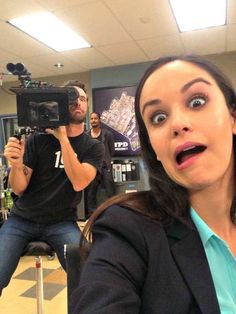 Melissa Fumero's Exclusive Photos From the Set of Brooklyn Nine-Nine