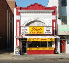 Ben's Chili Bowl. Arguably the most famous restaurant in DC.