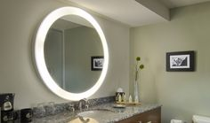 Trinity Electricmirror.com  21 inches wide/ 30 Inches high.  Do we want the night light option?