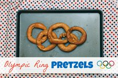 Olympic Ring Pretzels