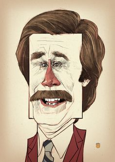 RON BURGUNDY by ~solitarium on deviantART