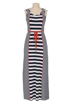 maurices striped summer dress