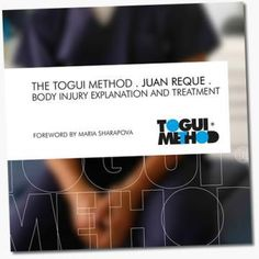 Maria's Facebook: My physio Juan just released a book called the Togui Method. It's a great tool for the body, coming from someone that has years of experience. And the best part is that it's not just for athletes, but simply for those looking to prevent and achieve the right balance of a healthy body chain. Check out the website below to find out more information.   www.thetoguimethod.com