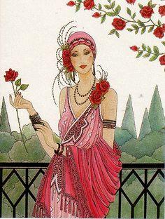 Art Deco Lady