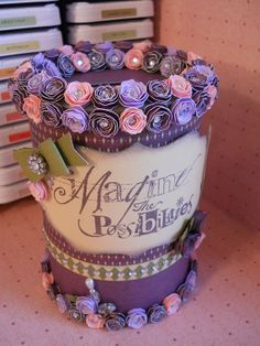 Repurposed Oatmeal Container  Penny Bank