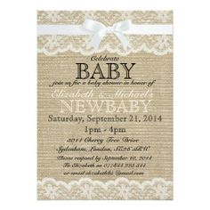 Vintage Baby Shower Invitation Digital Printable file