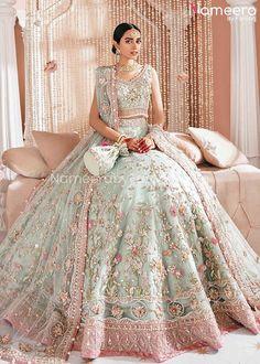 Asian Bridal Dresses, Asian Wedding Dress, Indian Bridal Outfits, Pakistani Bridal Dresses, Pakistani Wedding Dresses, Indian Fashion Dresses, Bridal Lehenga, Bollywood, New Mode