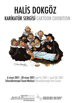 Halis Dokgöz's Cartoon Exhibition The cartoonist and academician Halis Dokgöz´s Cartoon Exhibition will be opening in the İstanbul Schneidertempel Art Gallery on April 6th, 2021. Halis Dokgöz whose first cartoon was published in Kılçık magazine, had started drawing cartoons in 1985. Later his cartoons appeared in many magazines and newspapers such as Gırgır, Limon, Çarşaf, […] The post Halis Dokgöz's Cartoon Exhibition first appeared on Toons Mag and is written by Halis Dokgöz. Drawing Cartoons, Magazines, Art Gallery, Writing, News, Journals, Art Museum, Comic Books, Being A Writer