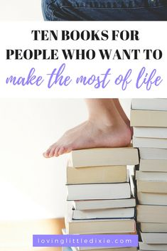 Ten personal development books to add to your reading list this year. #books #reading #personaldevelpmentbooks #personaldevelopmenttips