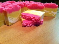 Honeysuckle cold process soap