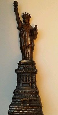 I ♡ NY!!!!  STATUE OF LIBERTY COPPER BRONZE BRASS METAL VINTAGE SOUVENIR New York