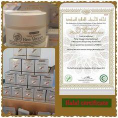 Sijil Halal Bee Venom Alpha Lipid Botox Cream, Bee News, Virtuous Woman, Venom, New Image, Cosmetics