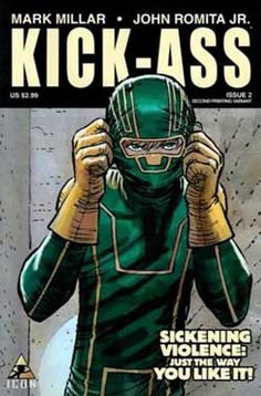 Kick-Ass.   This comic is groundbreaking. Very different from the movie. Hope you like it!