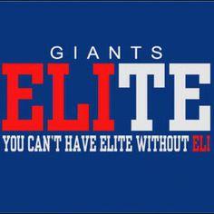 Eli Manning #Giants