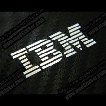 IBM Metal Logo Sticker - modSticker.com