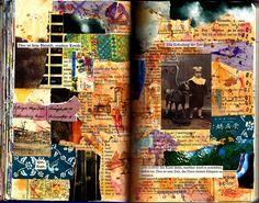 Art journal collage by LaWendula