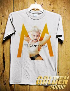 WE CAN'T STOP Miley Cyrus Men TShirt  Singer TShirt by GoldenMurup, $17.98