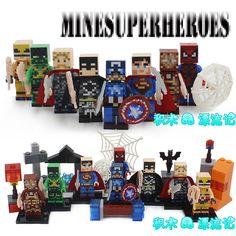 $6.19 (Buy here: https://alitems.com/g/1e8d114494ebda23ff8b16525dc3e8/?i=5&ulp=https%3A%2F%2Fwww.aliexpress.com%2Fitem%2F8pcs-My-World-Superman-Iron-Man-Thor-Batman-Hulk-Spider-Man-SUPER-HEROES-Avengers-Assemble-Building%2F32795951475.html ) 8pcs My World Superman Iron Man Thor Batman Hulk Spider-Man SUPER HEROES Avengers Assemble Building Blocks minifig Kids Toys for just $6.19