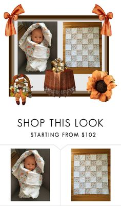 """""""Baby Rag Quilt"""" by bamasbabes ❤ liked on Polyvore"""