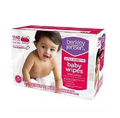 Berkley Jensen Ultra Sensitive Baby Wipes 1140 Count