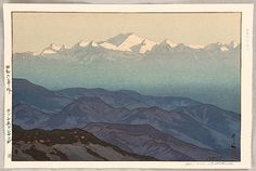 """Kanchenjanga, Afternoon"" 