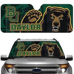 Baylor Bears car sun shade