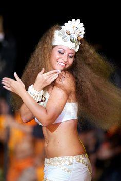 Tahitian dancer Moena Maiotui