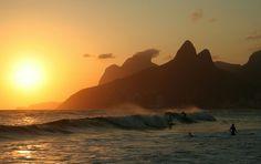 Surfing, Ipanema Beach, Rio de Janeiro - 9reasons to visit Rio de Janeiro http://cristinaraducu.com/2015/04/14/9-reasons-for-loving-rio/#more-145