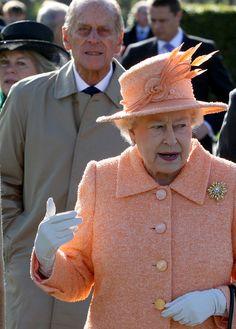 Queen Elizabeth II Photo - Queen Elizabeth II Opens Sports Hall At Gordonstoun School