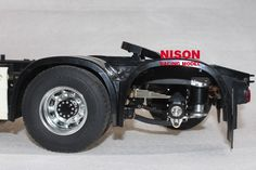 Tamiya 1 /14 truck Scania Man King Hauler truck double axles air suspension