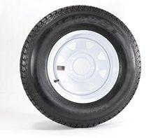 "Eco Trailer Tire Rim ST175/80D13 1758013 B78-13 13"" LRC 5 Lug Wheel White Spoke  https://www.safetygearhq.com/product/tyre-shop-tire-warehouse/eco-trailer-tire-rim-st17580d13-1758013-b78-13-13-lrc-5-lug-wheel-white-spoke/"