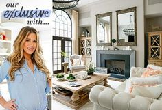 Shop this collection inspired by the Jessie James Decker's newly redesigned home to bring a warm mix of Southern and French styles into your own space