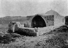 Information  ~   Description: Joseph's Tomb   Source: http://www.syt.co.il/showKever.asp?id=325   DATE: Early 1900s   Author: Unknown   Permission: PD Israel Photo