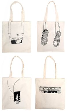 One and the Same is a design studio created by Alessandra Olanow who was born in Montreal, Canada, but spent . : One and the Same is a design studio created by Alessandra Olanow who was born in Montreal, Canada, but spent . Sacs Tote Bags, Diy Tote Bag, Canvas Tote Bags, Reusable Tote Bags, My Bags, Purses And Bags, Jean Purses, Patch Bordado, Sacs Design