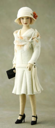 by Maggie Iacono (I have this doll in my collection, one of my favorites).