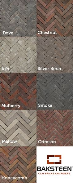 Baksteen Clay Pavers range | Patio | Driveway | Landscaping | Block Paving