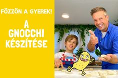Főzzön a gyerek, avagy hogyan készíts gnocchit otthon Gnocchi