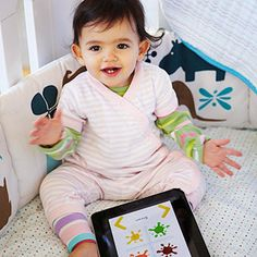 List of top baby educational apps for iPads.