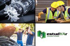 Estudia # Bobinado y reparación de motores eléctricos, #Instalaciones sanitarias y de gas, #Mecánica general o elegí entre nuestra gran variedad de cursos que tenemos disponibles para vos en http://estudyar.com/
