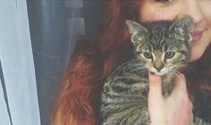 My little kitten. :)