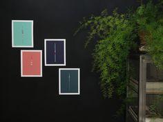 Handmade 5 Color Screenprint of a Mint Floater by weareoutofoffice