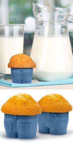 Muffin Top Cupcake Molds. It'll keep you from eating the goodies you make for others! Hahaha