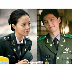Capt.Moon and Capt.Song 😍😉 . . Even their military rank are same. Captain!! .  Cr: Moon Chaewon for Road No.1 drama (2010) and Song Joongki for DoTS (2016) .  #songjoongki #joongki #joongkioppa #moonchaewon #chaewon #goodbyemrblack #gmb #descendantsofthesun #dots #niceguy #theinnocentman #chaeki . #착한남자 #송중기 #태양의후예 #유시진 #문채원 #굿바이미스터블랙 #스완 #채기